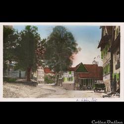 Langensoultzbach. (Bas-Rhin) Place de l'...