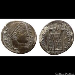 Constantin I - AE Follis réduit - PROVIDENTIAE AVGG - Trier - RIC.504