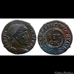 Constantinus - Ae Follis réduit - VOT XX - Rome