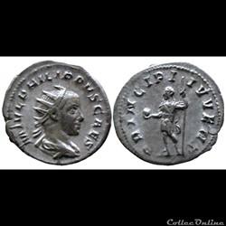 Philipp II  Caesar - Antoninien - PRINCIPI IVVENT