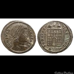 Constantin I - AE Follis réduit - PROVIDENTIAE AVGG - Trier - RIC.345