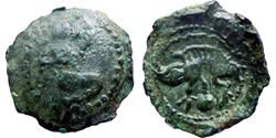 Bellovaques - Bronze au personnage ageno...