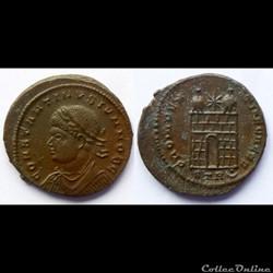 Constantinus II Caesar - AE Follis réduit - PROVIDENTIAE