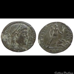 Constantin I - Ae  Follis réduit - SARMATIA DEVICTA - Trier