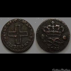 Savoie Charles Emmanuel III 2 Deniers 17...
