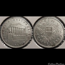 Autriche 1 Shilling 1926