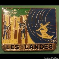 Pin's (40) Les Landes