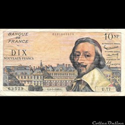 10 Francs Richelieu