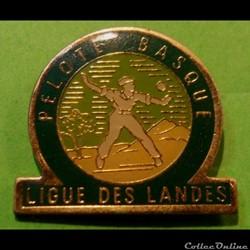 Pin's (40) Ligue des Landes Pelote Basque