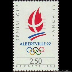 1990 Alberville 92 Jeux Olympiques d'hiver