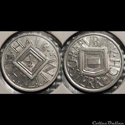 Autriche 1/2 Shilling 1925