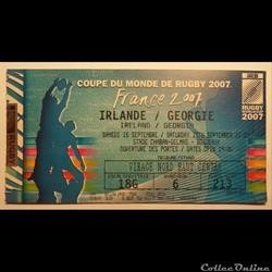 Rugby Coupe du Monde 2007 à Bordeaux