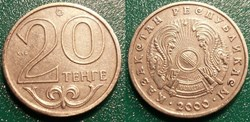20 Tenge 2000