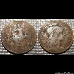 Ca 5 centimes Dupuis 1901