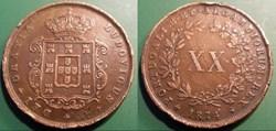 Portugal XX Reis 1871
