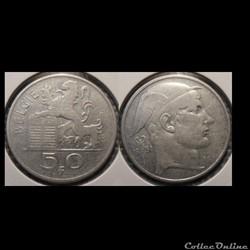 Belgique 50 Franc 1851