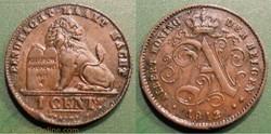 Belgique 1 Cent. 1912 der Belgen