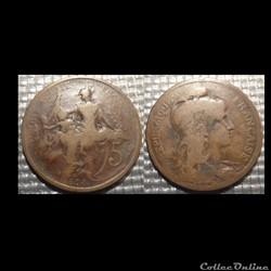 Ca 5 centimes Dupuis 1898