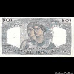 1000 Francs Hercule et Minerve