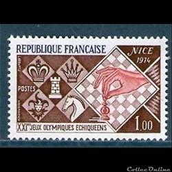 1974 XXI èmes Jeux Olympiques Echiquéens