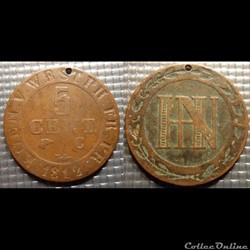 C4 5 Centimes Germanie Westphalie Jérome...