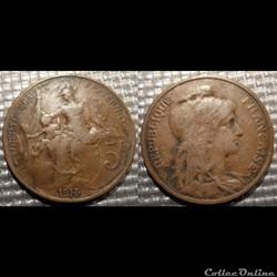 Ca 5 centimes Dupuis 1913
