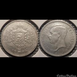 Belgique 20 Franc 1934 Der Belgen