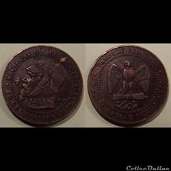 Monnaie satirique Napoléon III