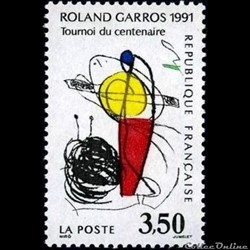 1991 Roland Garros tournois du centenaire
