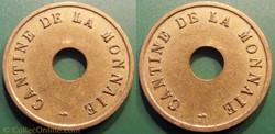 b-  Jeton Paris Cantine de la Monnaie