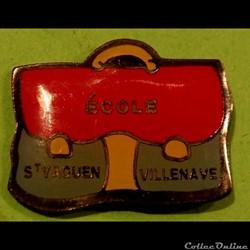 Pin's (40) Saint Yaguen- Villenave