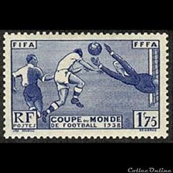 1938 3ème coupe du monde de football à Paris
