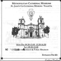 Malte La Valette Musée de la Cathédrale