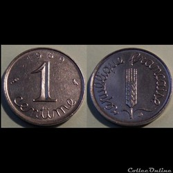 Ab 1centime épi 1969