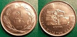 2 1/2 Lira 1970