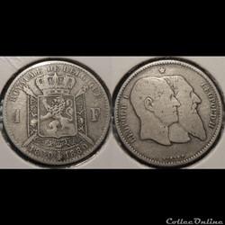 Belgique 1 Franc 1980  Belgique