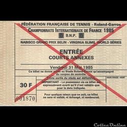 Tennis Roland Garros Internationnaux de ...