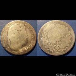 G-Louis Philippe 1 Franc