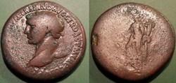D- Les Antonins Trajan Sesterce