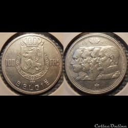 Belgique 100 Franc 1949 Belgie