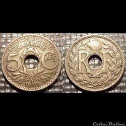 Cb 5 centimes EM Lindauer 1919 19mm 3g