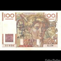 100 Francs Paysan