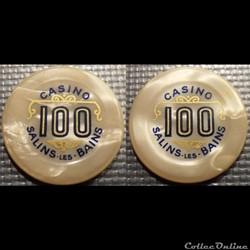 j- Jeton casino SALINS-LES-BAINS