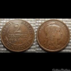 Ba 2 centimes Dupuis 1911