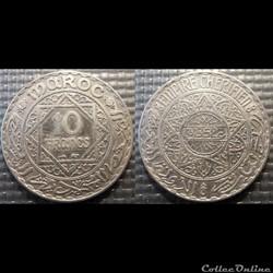 Maroc Système monétaire Français
