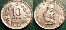 10 Lira 1981