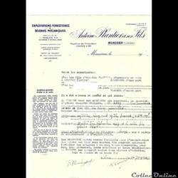 Vieux papiers: Mimizan Etablissements Pl...
