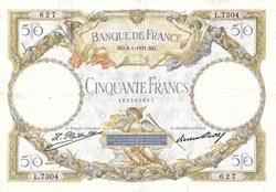 50 Francs Luc Olivier Merson