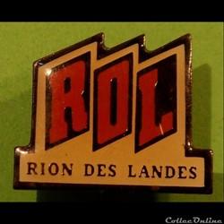 Pin's (40) Rion des Landes
