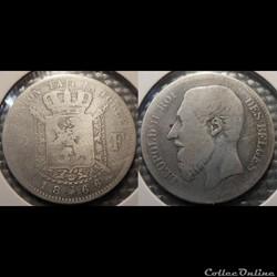 Belgique 2 Franc  1966  Des Belges